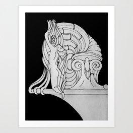 Ivory Tower (v3) Art Print