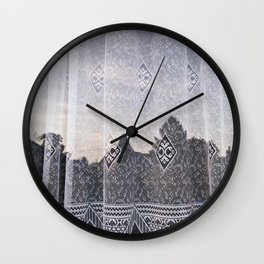 Vintage Reflection Wall Clock