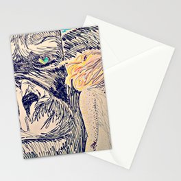 Kong for the Mikes Stationery Cards