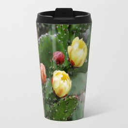 Cactus with flower Travel Mug