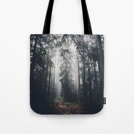 Dark paths Tote Bag