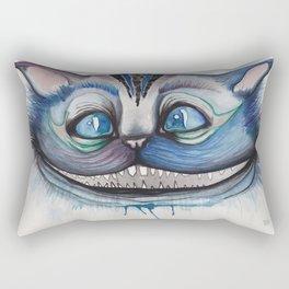 Cheshire Cat Grin - Alice in Wonderland Rectangular Pillow