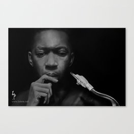 JohnColtrane Canvas Print