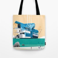 beauty and the beast Tote Bags featuring Beauty & The Beast by Joneta Witabora