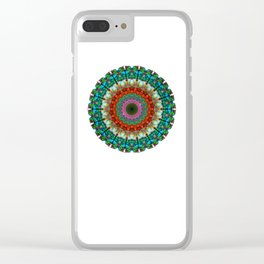 Deep Love - Mandala Art By Sharon Cummings Clear iPhone Case