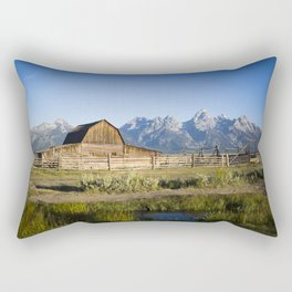 Mormon Row Grand Tetons Rectangular Pillow