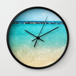 Blue Curacao Wall Clock