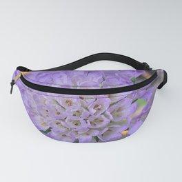 Purple Pincushion Flower Digital Photography Fanny Pack