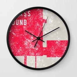 Evolution In Bass Sound Wall Clock