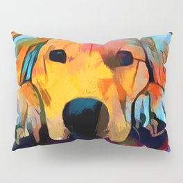 Golden Retriever 4 Pillow Sham