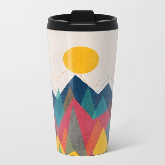 Uphill Battle Metal Travel Mug
