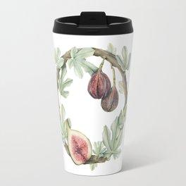 Fig Wreath Travel Mug