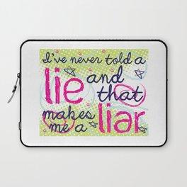 Everyone Lies Laptop Sleeve