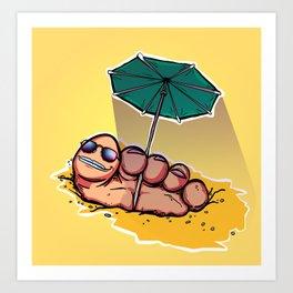 EASYFOOT Art Print