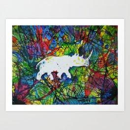 rhinocerish Art Print