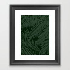 Fernery I Framed Art Print