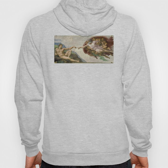 Michelangelo - Creation of Adam Hoody