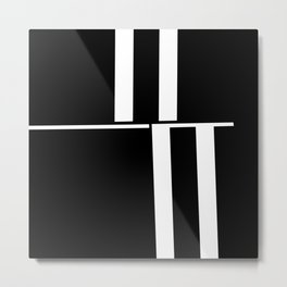 Anxiety Rectangles 1 #minimalism #abstract #geometry #society6 Metal Print