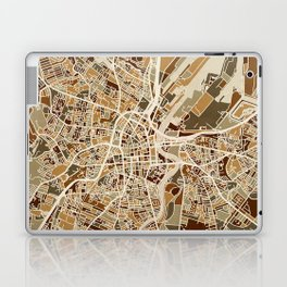 Belfast Northern Ireland City Map Laptop & iPad Skin