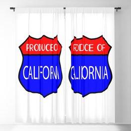Produce Of California Blackout Curtain