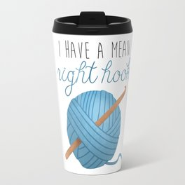 I Have A Mean Right Hook Travel Mug
