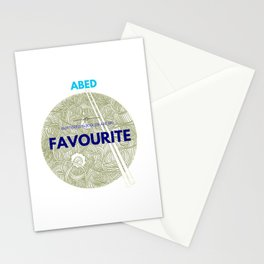 ABED COMMUNITY QUOTES (2) Stationery Cards