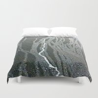 lightning Duvet Covers featuring Lightning  by Ethna Gillespie