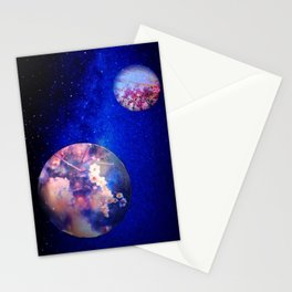 Let Me See What Spring Is Like On Jupiter & Mars Stationery Cards