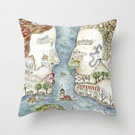 Kisstanbul Throw Pillow