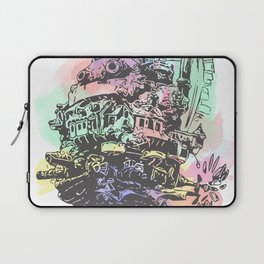 Colourful Moving Castle Laptop Sleeve