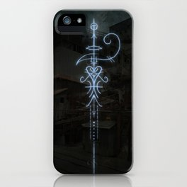 Sigil to Invoke the Magic of Liminal Spaces iPhone Case