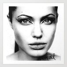 Angelina Art Print