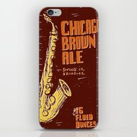 ale giorgini iPhone & iPod Skins featuring Chicago Brown Ale by Moto