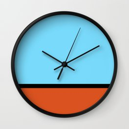 RennSport vintage series #1 Wall Clock