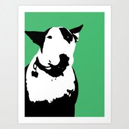 English Bull Terrier Art Print