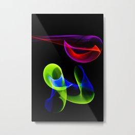 Light play Metal Print