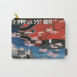 Vintage poster - Tokyo Carry-All Pouch