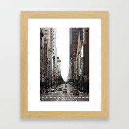 Streets ∆ Framed Art Print
