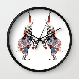 Dancing Elephants Wall Clock