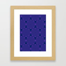 Dizzy Circles Framed Art Print