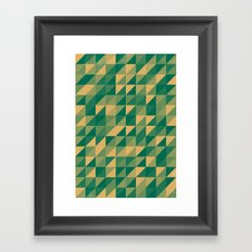 Honey Fields Framed Art Print