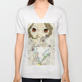 the girl and the frog Unisex V-Neck