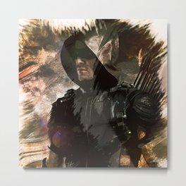 Starling City Vigilante - ARROW Metal Print