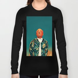 ALFREDHITCHCOCK Long Sleeve T-shirt