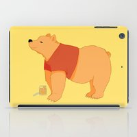pooh iPad Cases featuring Pooh Bear by Ray Elaine