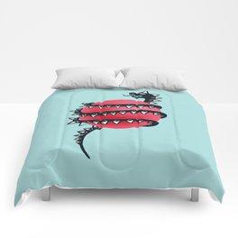 Dragon snake Comforters