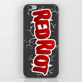 Red Riot! iPhone Skin