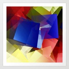 Geometric harmony. For Paul klee Art Print