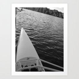 Row Art Print