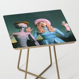 Surrender your Venusians Side Table